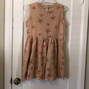 Brand new Rylee and Cru starfish dress